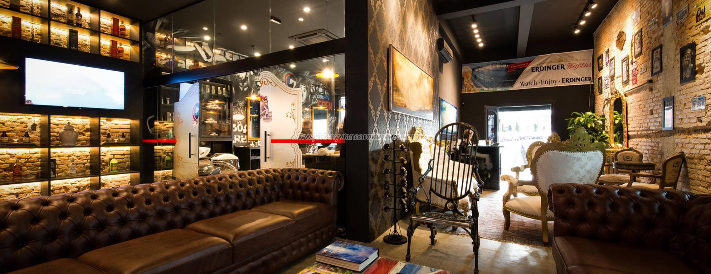 Projetos de arquitetura e design para barbearias, restaurantes e bares de alto padrão | Johnny Viana Arquitetura e Interiores