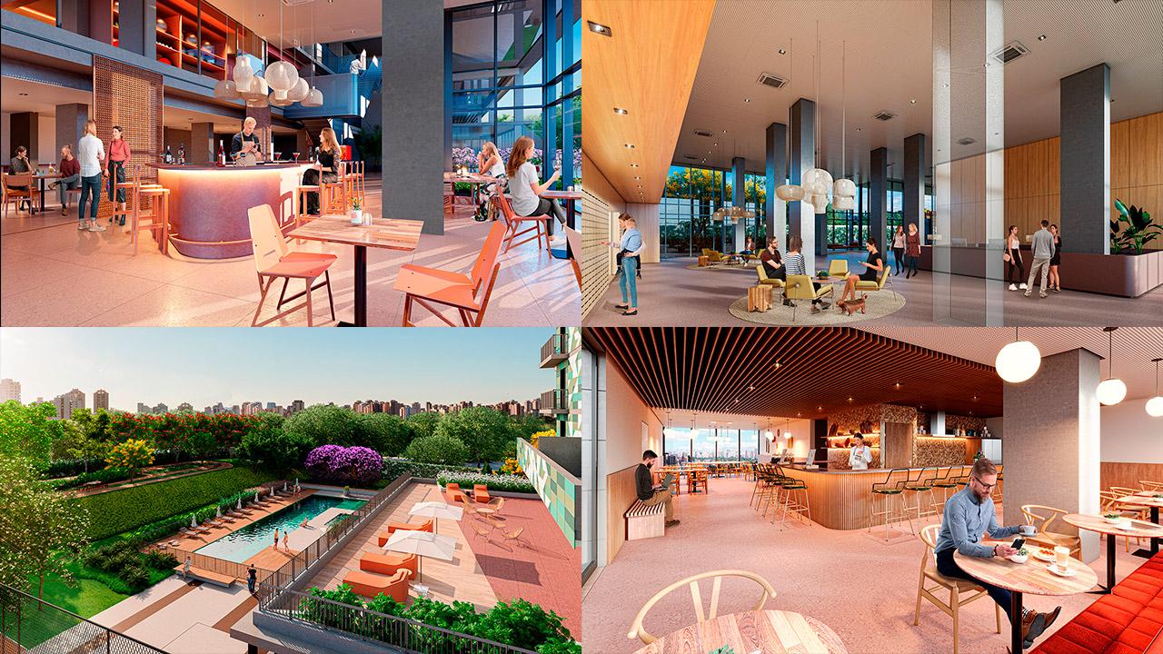 Condomínio Porte Artem - Apartamentos Alto Padrão Jd. Anália Franco | Johnny Viana Arquitetura e Interiores