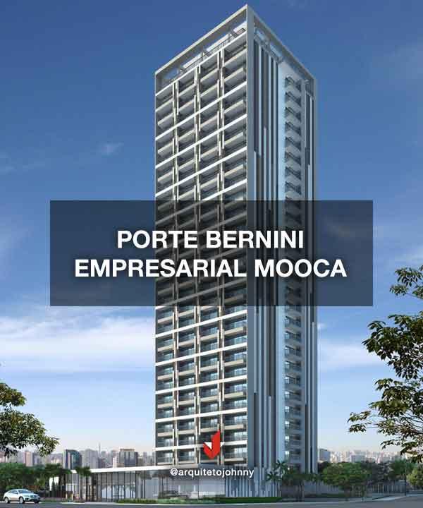 Edifícil Porte Bernini Empresarial Mooca   Johnny Viana Arquitetura e Interiores
