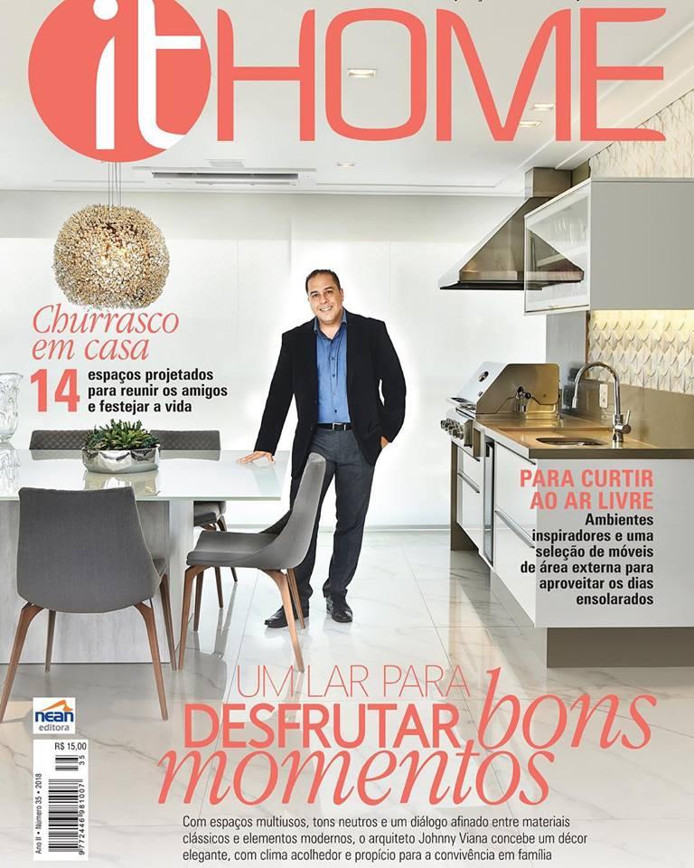 Revista It Home - Arquiteto Johnny Viana