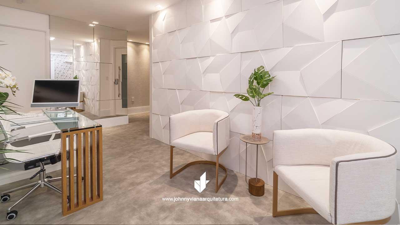 Projeto de Arquitetura da Clínica Intervir no Jd. Anália Franco, Tatuapé | Johnny Viana Arquitetura e Interiores