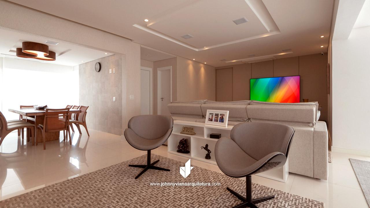 Reforma de residências de alto padrão - Reforma de casa e apartamentos | Johnny Viana Arquitetura e Interiores