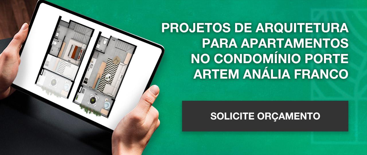 Projeto de arquitetura apartamentos condominio Porte Artem | Johnny Viana Arquitetura e Interiores