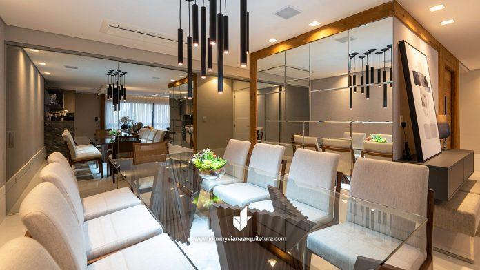 Projeto de Sala de Jantar Luxuosa e Elegante | Johnny Viana Arquitetura e Interiores