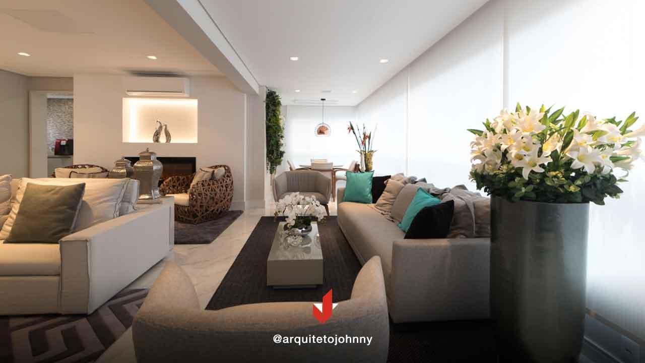 Decoração Apartamento Condomínio Central Park Prime Tatuapé | Johnny Viana Arquitetura e Interiores