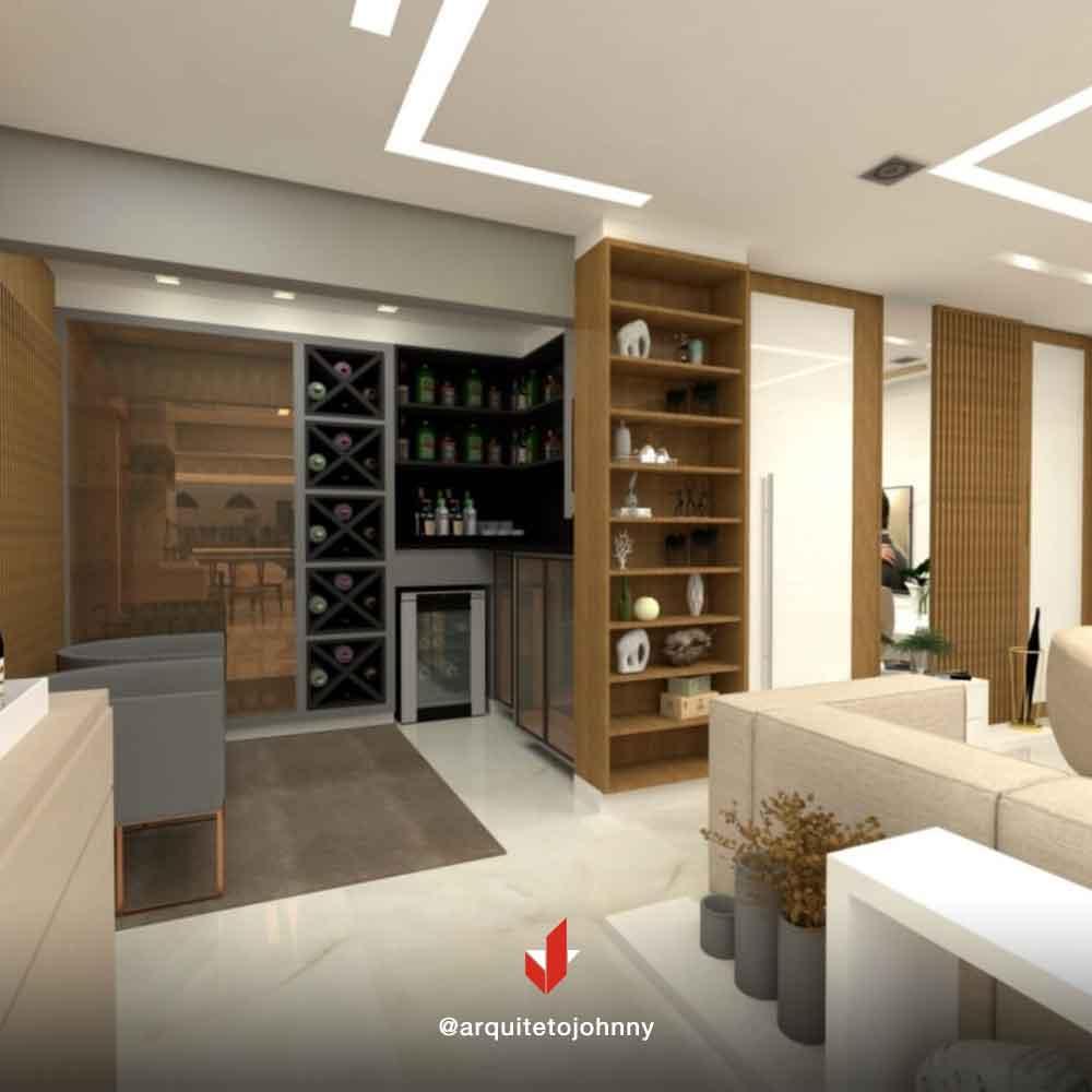 Projeto Apartamento Condomínio Central Park Prime Tatuapé | Johnny Viana Arquitetura e Interiores