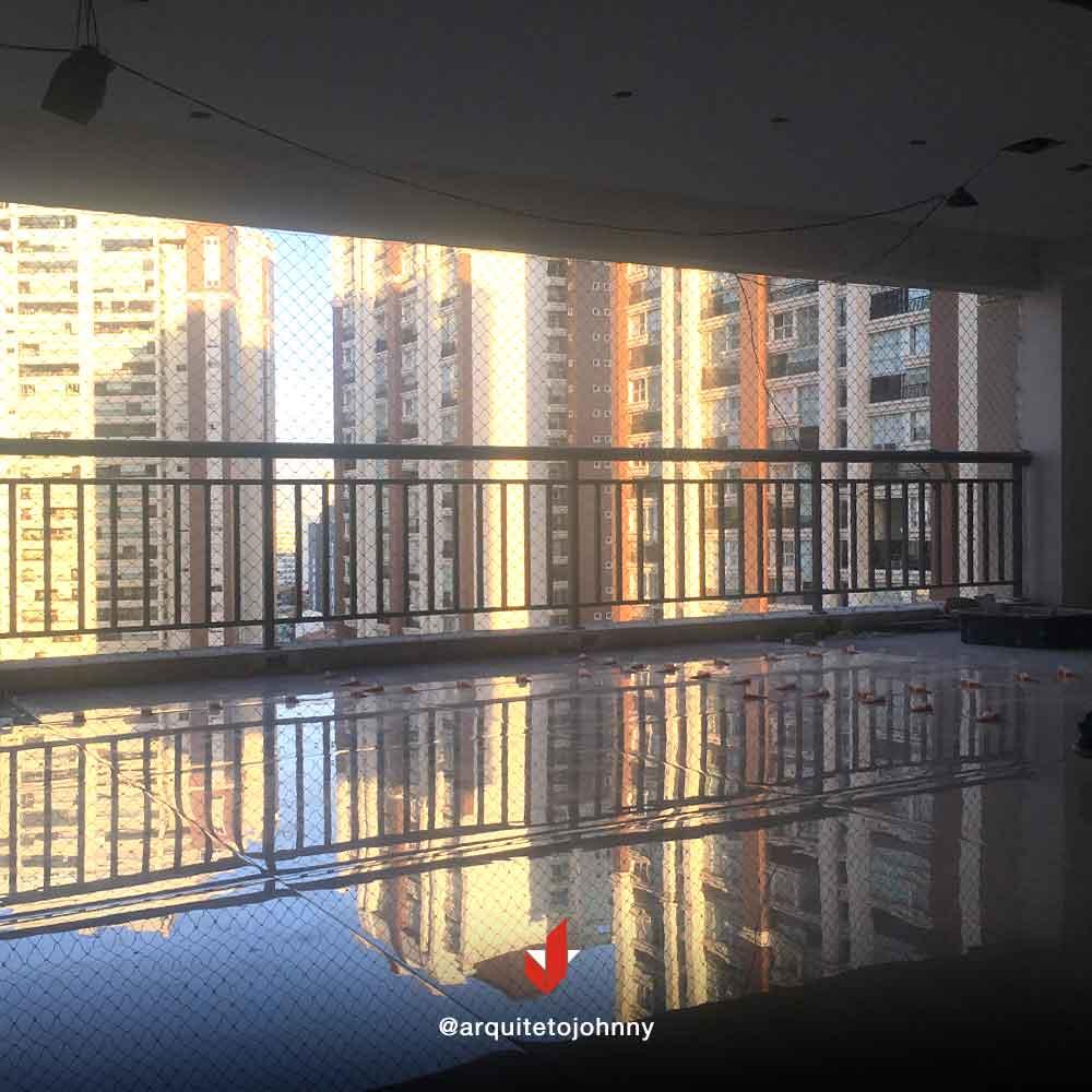 Obras Apartamento Condomínio Central Park Prime Tatuapé | Johnny Viana Arquitetura e Interiores
